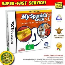 My SPANISH Coach Nintendo DS (NEW) Learn a language game NDS 2DS 3DS XL console
