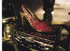 "*Postcard-""Red Shoe on Display/Top of Case"""