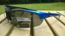 Maxx HD Sunglasses Domain HDP black golf blue smoke polarized mens womens