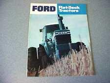 Ford 6700, 7700, 8700, 9700, plus 1600 thru 7600 Farm Tractor Color Brochure  lw