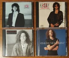 Lot of 4 Kenny G CD's The Moment Duotones Silhouette Breathless New Jewel Cases