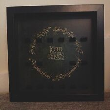 Lego Lord of the Rings One Ring Logo Figure Minifig Display Frames Cases