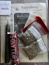 Banishing & Protection All in One Ritual Spell Kit Pagan Witchcraft Altar Supply