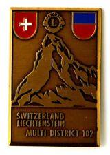 Spilla Switzerland Liechtenstein Lions Multi District 102 (Faude Gippingen)