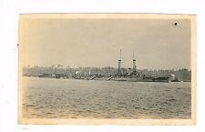 Antique Photo American Warship Wyoming 73rd Street New York Otto Wantzelius 1915