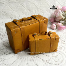 BJD Dollfie DREAM DOD AOD MID LUTS Blythe Doll Retro Luggage Travel Suitcase Set