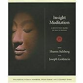 Salzberg, Sharon, Goldstein, Joseph Insight Meditation Kit: A Step-by-step Cours