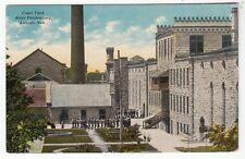 1913 Postcard Prisoners in Court Yard at State Penitentiary in Lincoln, Nebraska