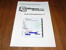 Windows Server 2000 Serverfamilie 5-CAL Clientzugriffslizenzen