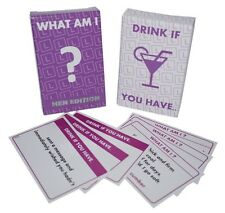Hen Night Party Games -  WHAT AM I ? /  DRINK IF YOU HAVE ....•:* 2 GAMES *:•.