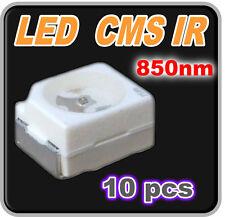122/10# LED CMS IR 850nm-- 10pcs  -  Plcc-2 TL  SMD