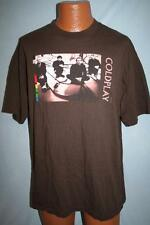COLDPLAY 2005 Band Photo BROWN T-SHIRT XL Chris Martin BRITPOP ROCK