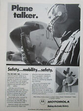 1/1981 PUB MOTOROLA COMMUNICATIONS AN/ARC-188 WIRELESS INTERCOM US AIR FORCE AD