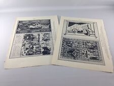 Vintage Black & White Pages/Prints of Bible Images/Info  ~ 1934 ~ Ships FREE!