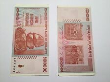 5 Billion Zimbabwe dollar note