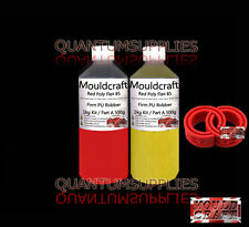 1kg Mouldcraft Red Poly Flex 85 Shore Fast Cure  Polyurethane Casting Rubber