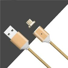 Magnetic Micro USB Charger Cable For Android Galaxy S7 S6 Edge LG ZTE HTC Sony
