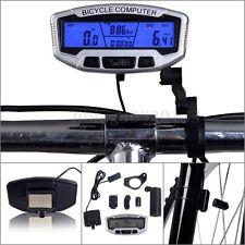 Nuevo 28 Funciones  Computadora Velocímetro Odómetro Cuentakilómetro Bicicleta