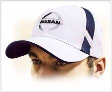 NISSAN unisex Baseball Cap Hat. 100% cotton. White color. Adjustable size!!!