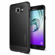 Spigen Galaxy A7 2016 Funda Rugged Armor Negro