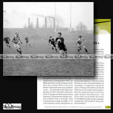#CRP.075 Fiche Rugby - Les ALL BLACKS 1924-1925 & GEORGE NEPIA