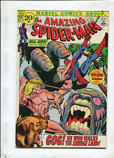 THE AMAZING SPIDER-MAN #103 (7.5) GOG! HE WHO WALKS THE SAVAGE LAND! 1971