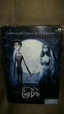 "Victor And Corpse Bride 7"" figure Mcfarlane Toys Commemorative 2 pack Tim Burton"