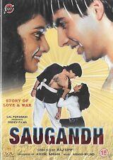 SAUGANDH - AKSHAY KUMAR - SHANTI PRIYA - NEW BOLLYWOOD DVD –
