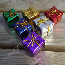 Dolls House Set of 6 Christmas presents 2.5cm (Large)