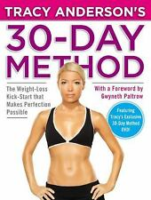 TRACY ANDERSON'S 30-DAY METHOD  - GWYNETH PALTROW TRACY ANDERSON (Hardcover)