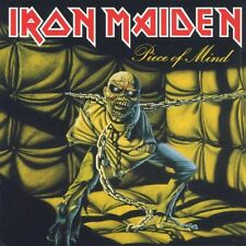"IRON MAIDEN ""PIECE OF MIND"" CD SPECIAL ENHANCED NEUWARE"