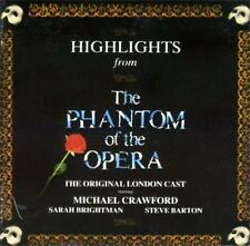 PHANTOM OF THE OPERA Highlights CD - Original London Cast - Michael Crawford
