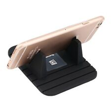Black Silicon Phone Holder Mount Stand Cradle Non Slip Mat Pad FOR Remax F7