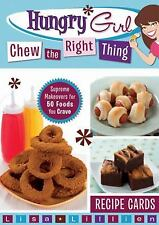 Hungry Girl: Chew the Right Thing Recipe Cards 2009 (Brand New)