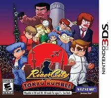River City: Tokyo Rumble (Nintendo 3DS Action Arcade Video Game Natsume) NEW