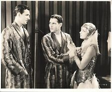 "KAY FRANCIS, RICHARD ARLEN & DAVID NEWELL in ""Dangerous Curves"" Original 1929"