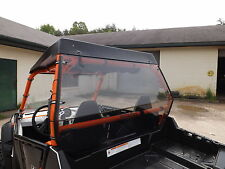 """Polaris RZR 800,800S Tinted Rear Windshield Hard Panel..A Full 1/4"""" Thick"""