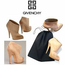GIVENCHY Women's Beige Ankle Booties Size 39
