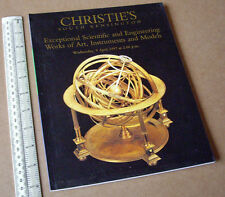 1997 Christies Catalogue, London. Scientific Engineering Instruments Models Art