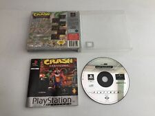 PS1 GAME ** CRASH BANDICOOT   ** Platinum - Free Uk Pp