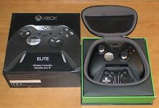 XBOX ONE ELITE WIRELESS CONTROLLER - ALL BUTTONS & PADDLES , CARRY CASE & BOXED