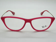 NEW Authentic Ray Ban RB 7042 5471 Matte Pink 54mm Cat-Eye RX Eyeglasses