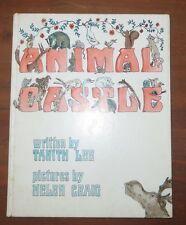 Animal Castle Tanith Lee Helen Craig MacMillan 1972 Vintage Kids Book HB