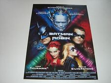 AFFICHE PROMO VIDEO CLUB--BATMAN & ROBIN--CLOONEY/SCHWARZENEGGER/O'DONNELL