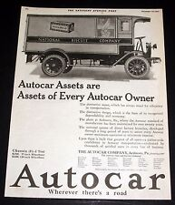 1920 OLD MAGAZINE PRINT AD, AUTOCAR ASSETS ARE ASSETS OF EVERY AUTOCAR OWNER!