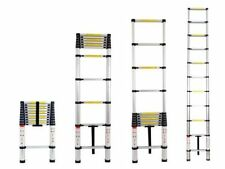 2.6M Portable 2.6 M Telescopic Telescoping Ladder Extendable Extend Foldable HT