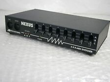 JL Cooper Electronics Nexus 3x8 Midi Switcher