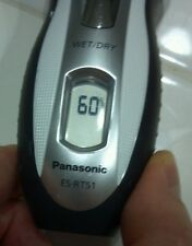 WORN Panasonic ES-RT51-S 3-Blade Electric Razor Wet/Dry with Pivoting Head