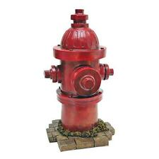 Fire Hydrant Vintage Style Red Garden Sculpture Fire Plug Statue