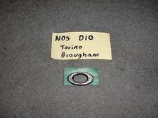 NOS O Letter Emblem 70 Ford Torino Brougham Fender-302/351/429 CJ-Ornament/Badge